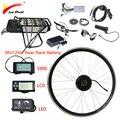 Комплект для переоборудования электрического велосипеда  36 В  500 Вт  36 В  12 а/ч  20 дюймов  26 дюймов  700C  28 дюймов  переднее моторное колесо ebike ...