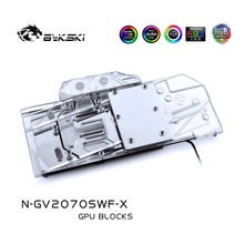 Water-Block Bykski 2070 Geforce Rtx Super-Windforce GIGABYTE RGB A-Rgb/4pin Use-For 12V