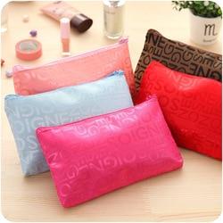 TS сумка с надписью, Южная Корея, Милая женская сумка для хранения, сумка для мытья, сумка для переноски, косметичка