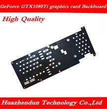 Nova geforce gtx 1080 ti gtx1080ti placa gráfica cobertura completa placa de proteção bloco resfriamento água frete grátis