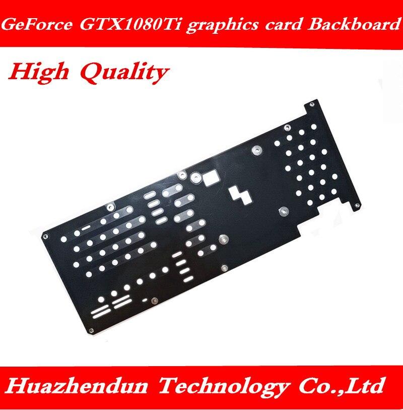 Nova geforce gtx 1080 ti gtx1080 placa gráfica cobertura completa placa de proteção bloco resfriamento água frete grátis