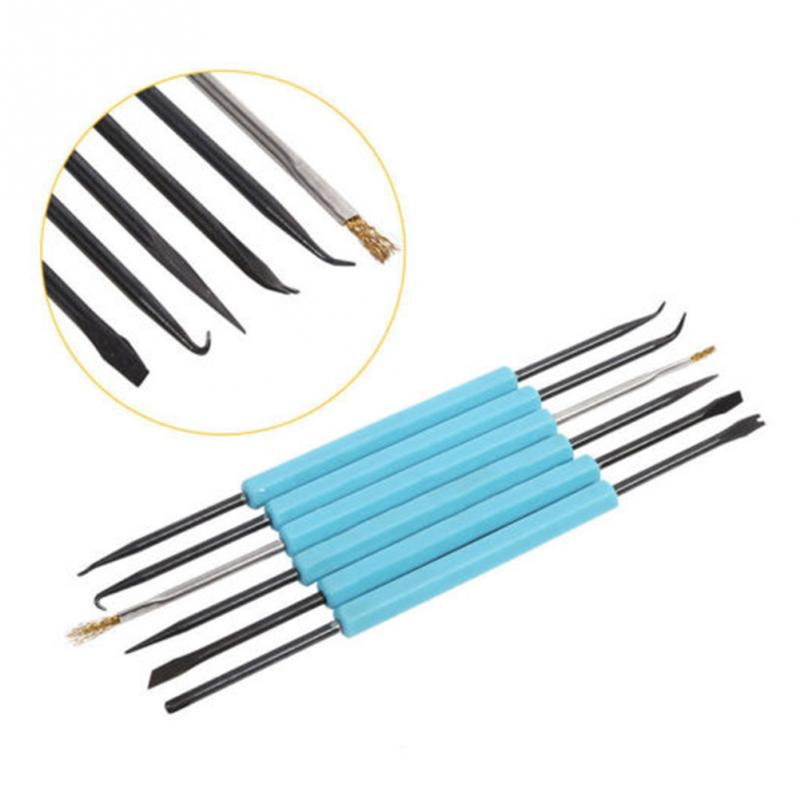 Professional Steel Solder Assist Repair Tool Set Electronic Components Welding Grinding Cleaning Repair Tool For Assembly Work