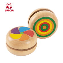 Wooden Yoyo Toys Ladybug Toys Kids Yo-Yo Creative Yo Yo Toys for Children Professional Yoyo Ball Gifts Party Favors PHOOHI new arrive yoyo empire big bang yoyo cnc yoyo for professional yo yo player professional advanced ball pom material