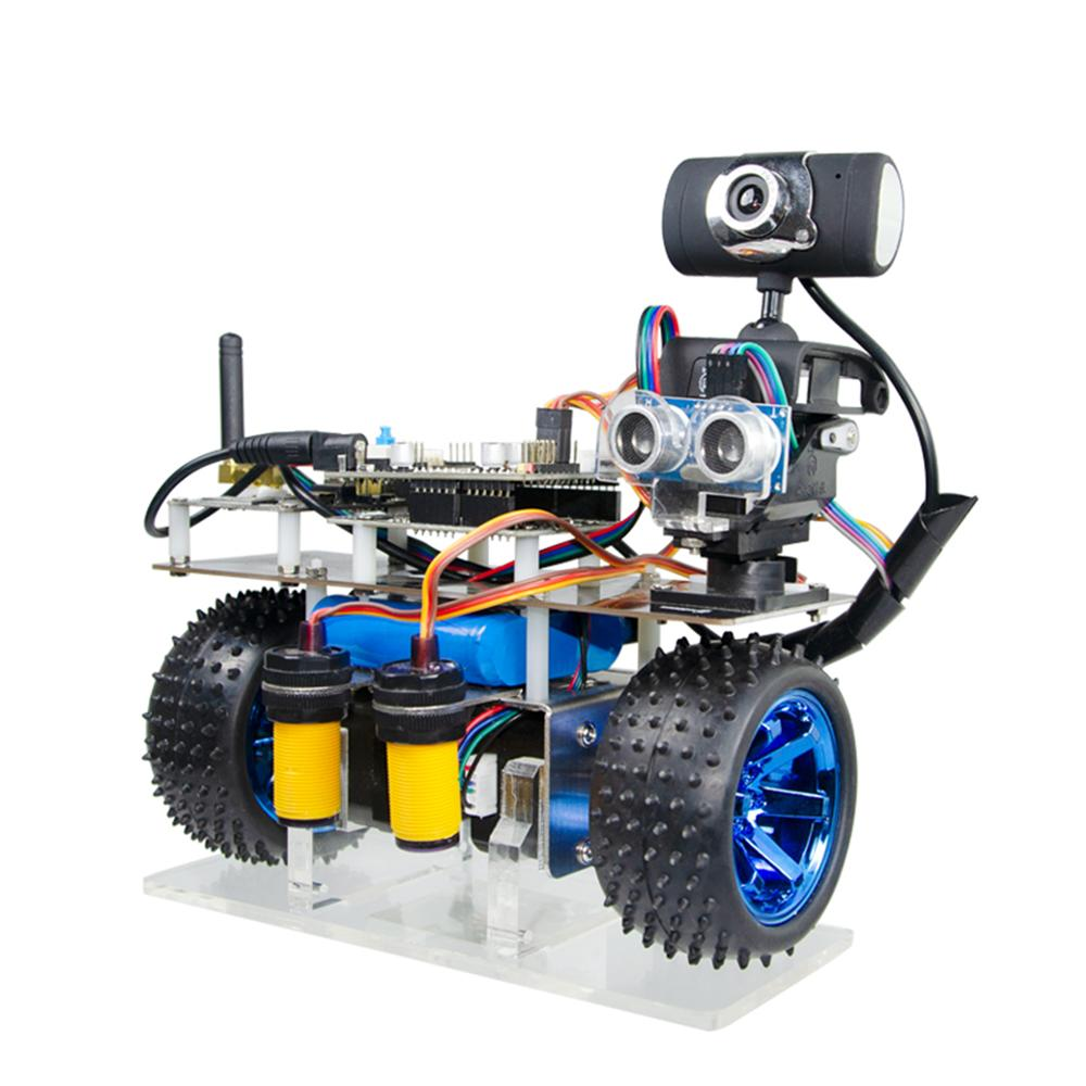 Programmable Intelligent Balance Car WiFi Video Robot Car Support IOS/Android APP PC Remote Control For STM32- Avoidance Version
