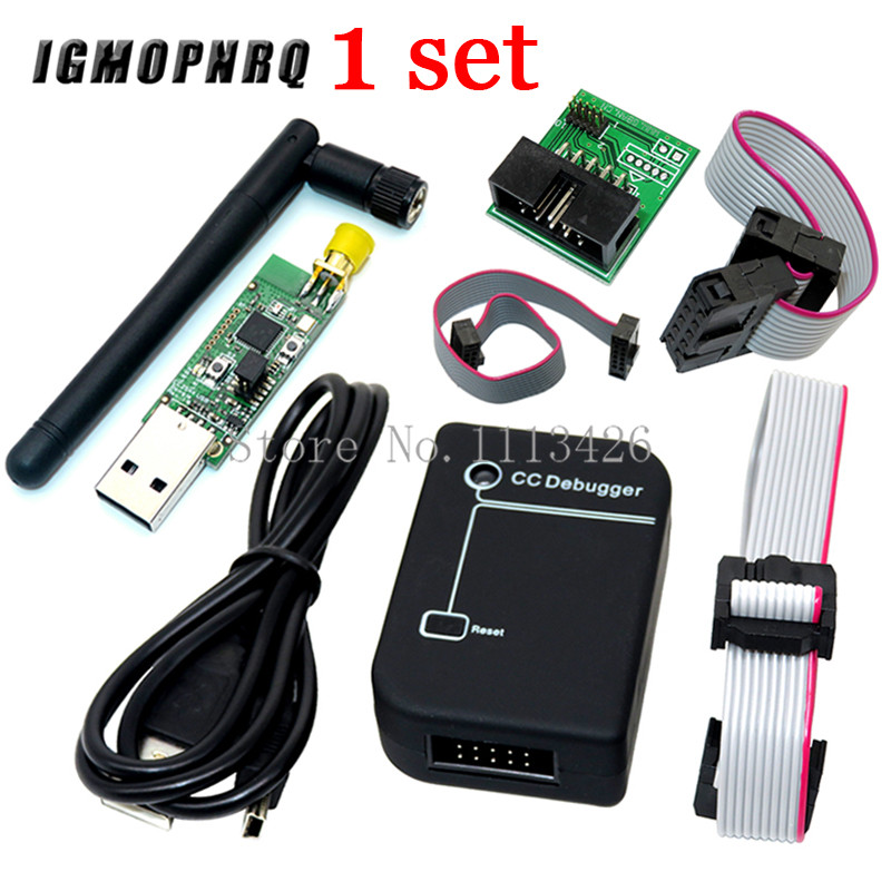 Connector Antenna Downloader-Cable Sniffer Bluetooth-Module Usb-Programmer CC2531 Cc-Debugger