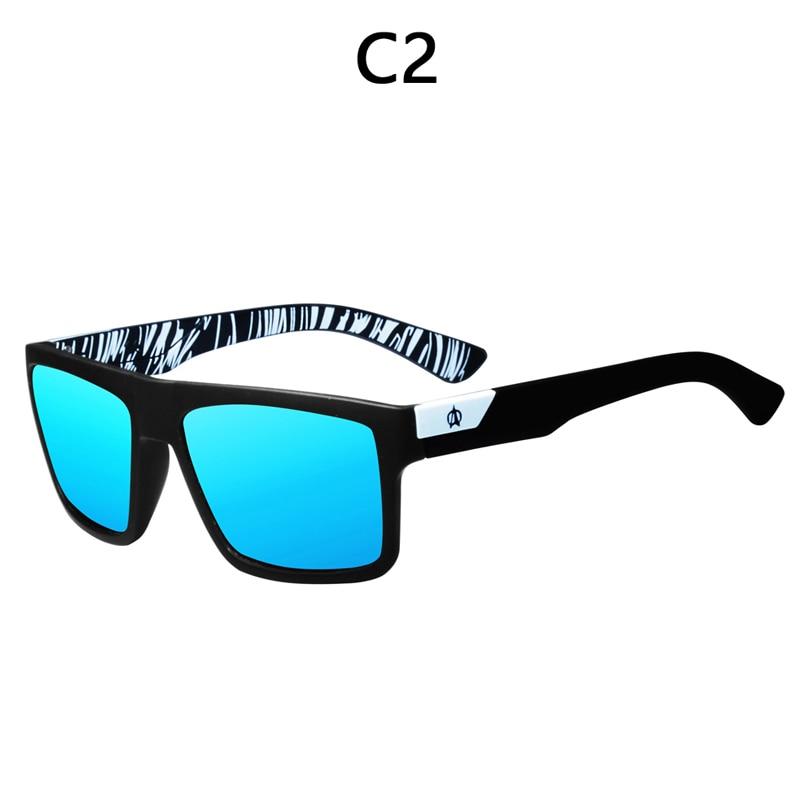 Image 3 - VIAHDA ブランドのデザイン偏光サングラス男性ドライバーシェード男性ヴィンテージ男性 Spuare ミラー夏 UV400 Oculosサングラス   -