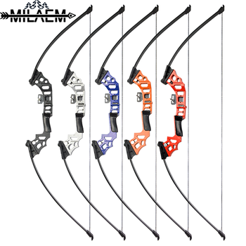 60inch Archery Recurve Straight Bow Takedown Bow  Aluminum-magnesium alloy Bow Handle  Fishing Hunting Shooting Accessories