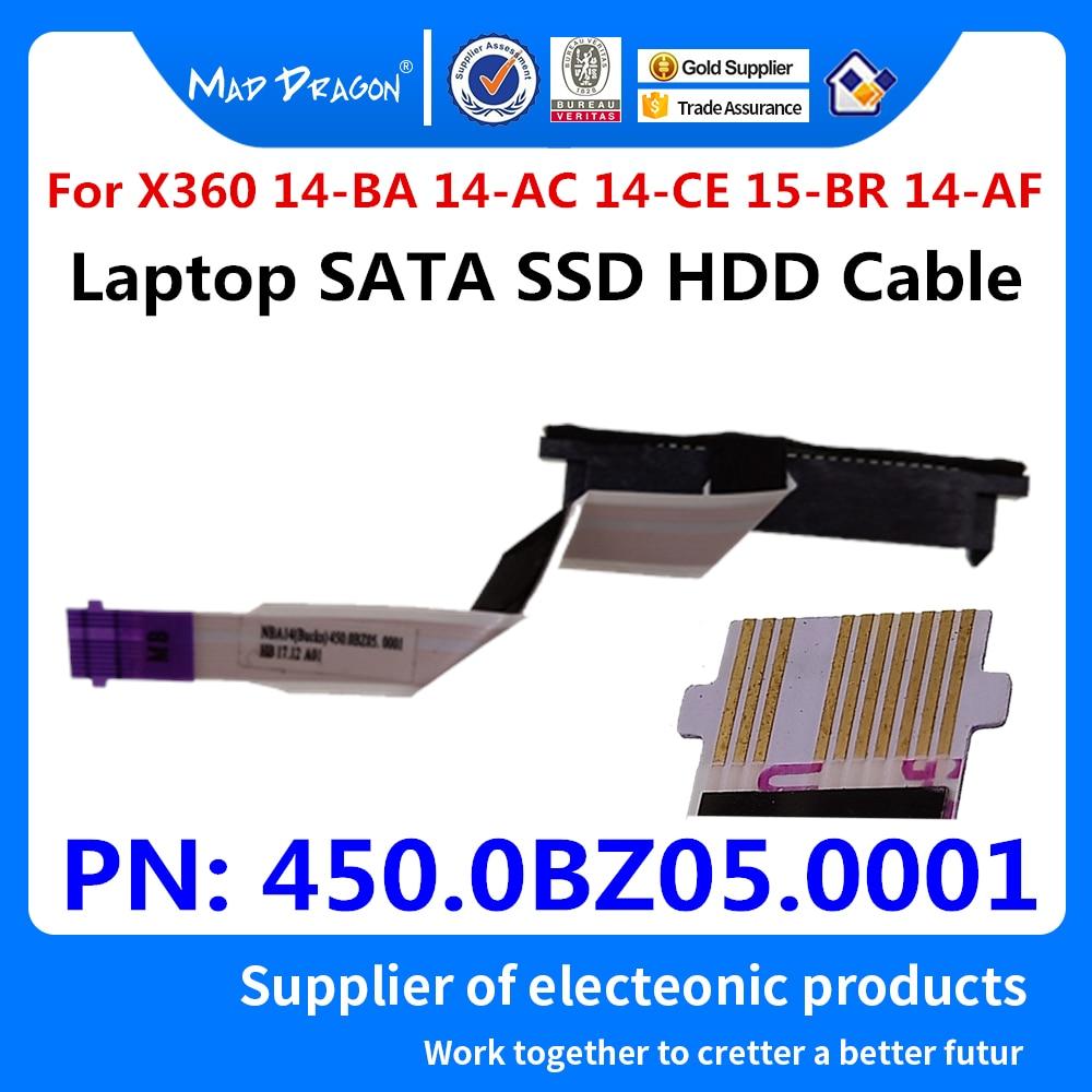 HP Pavilion X360 14-BA 14-BA011DX HDD Hard  Drive Connector Cable 450.0BZ05.0001