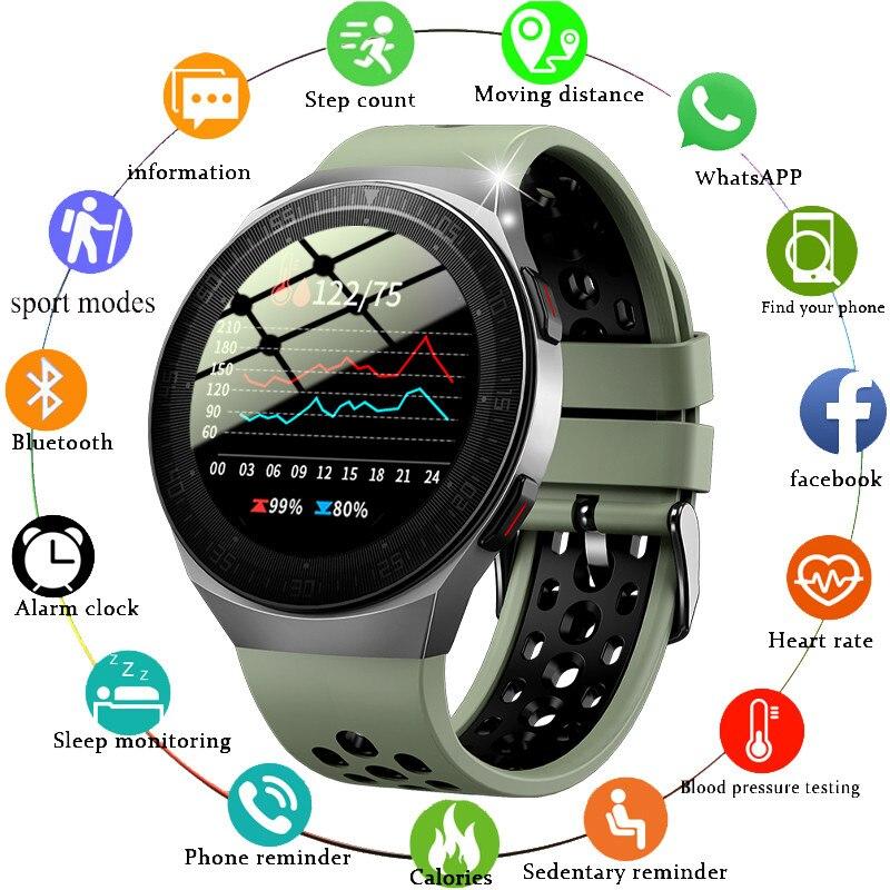 2021 Новый Bluetooth наручные Смарт-часы с Для мужчин 8G карты памяти музыкальный плеер smartwatch для ios и Android телефон Водонепроницаемый Фитнес трекер