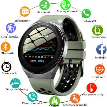 2021 nowe połączenie Bluetooth inteligentny zegarek mężczyźni 8G karta pamięci odtwarzacz muzyczny smartwatch dla androida telefon z ios wodoodporna opaska monitorująca aktywność fizyczną tanie i dobre opinie GEJIAN CN (pochodzenie) Brak Na nadgarstek Zgodna ze wszystkimi 64GB Krokomierz Rejestrator aktywności fizycznej Rejestrator snu