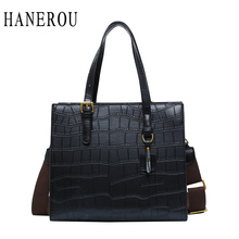 Crocodile PU Handbags Large Capacity Women Crossbody Shoulder Bag Leather Casual Tote Top-Handle Ladies Hand Bags Messenger Bag все цены