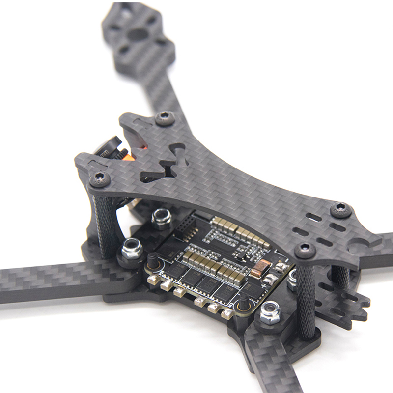 Image 4 - TCMMRC 5 inch Drone Frame Black Bat 220 fpv frame 5mm Arm Carbon Fiber for FPV Racing Drone Frame Kit-in Parts & Accessories from Toys & Hobbies