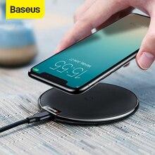 BASEUS Qi Wireless Charger PadสำหรับiPhone X XS MAX XR 10W Fast ChargerสำหรับSamsung S10 s9 หมายเหตุ 10 9 สำหรับXiaomi