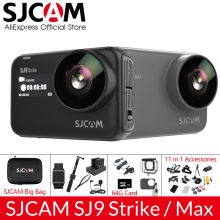 SJCAM SJ9 серия SJ9 Strike SJ9 Max гироскоп Корпус Водонепроницаемый 4K Экшн-камера прямая передача 2,4G Wifi спортивная видеокамера