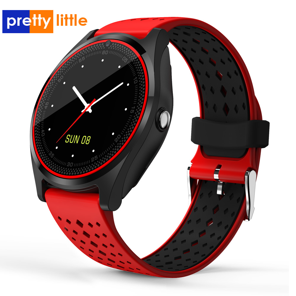 Smart Watch SIM Card Support Camera Smartwatch Bluetooth Wristwatch For Men Women Children Wearable Devices V9 Sport Watch