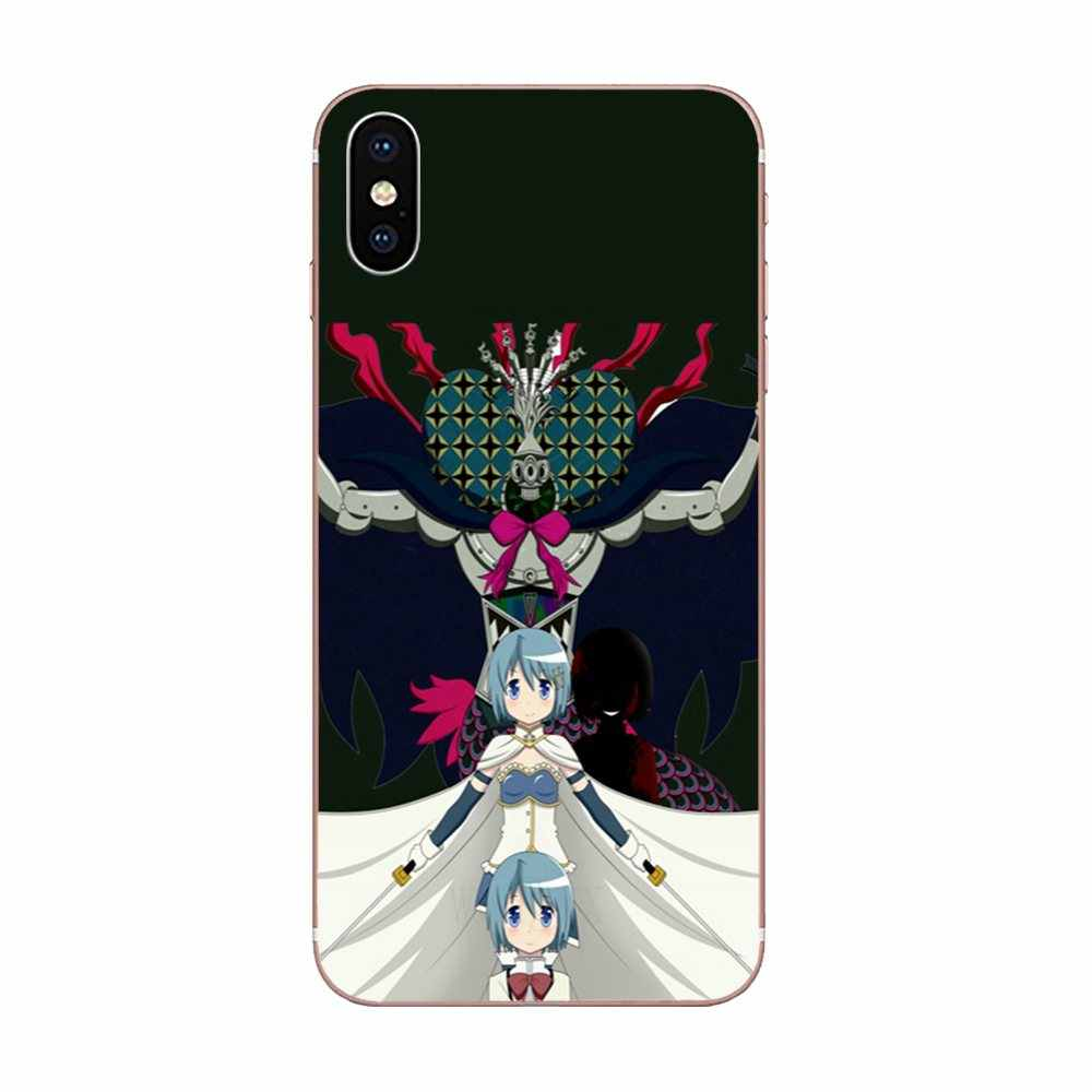 Sayaka Miki Puella Magi Madoka Magica para LG G2 G3 G4 G5 G6 G7 K4 K7 K8 K10 K12 K40 mini Plus ThinQ 2016 de 2017 a 2018