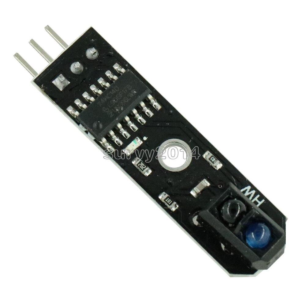 10PCS TCRT5000 DC 5V IR Infrared Line Track Follower Sensor Obstacle Avoidanc For Arduino AVR ARM PIC Track Sensor 10MM NEW