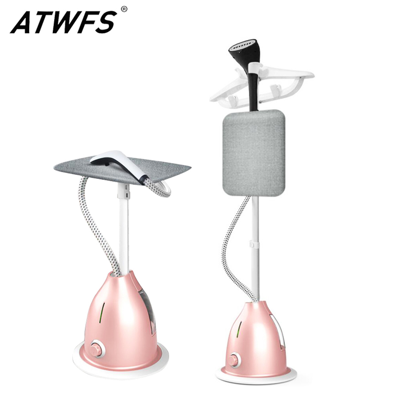 ATWFS Garment Steamer Iron Steamer for Clothes Plancha Vertical Vapor Ironing Machine 2000W 10 Gear Adjustable Home Appliances