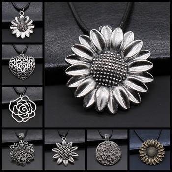Flower Pendant Necklace For Women 1
