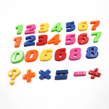 Fridge-Sticker Magnets Letters Alphabet Early-Learning Teaching Home-Decor Colorful Kids