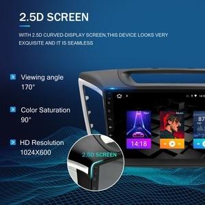 "Image 2 - Autoradio android 10.0, écran IPS 9 "", Navigation GPS, lecteur multimédia, DVD, vidéo, 2 Din, pour voiture Hyundai ix25 Creta (2014 2018)"