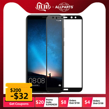 5D Curved Edge Full Covered For Huawei Mate 10 Lite Tempered Glass Screen Protec
