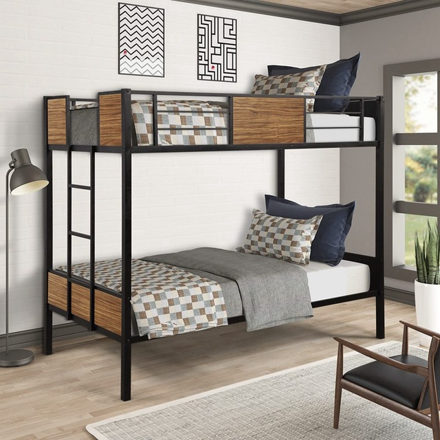 Twin-over-Twin Steel Framed Bunkbed 2