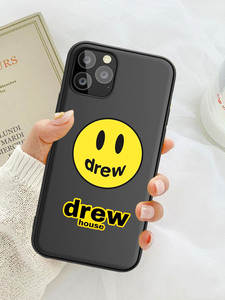 Drew House Justin Bieber Luxury brand Soft Phone Case For iPhone 8 7 6 6S Plus X XS Max