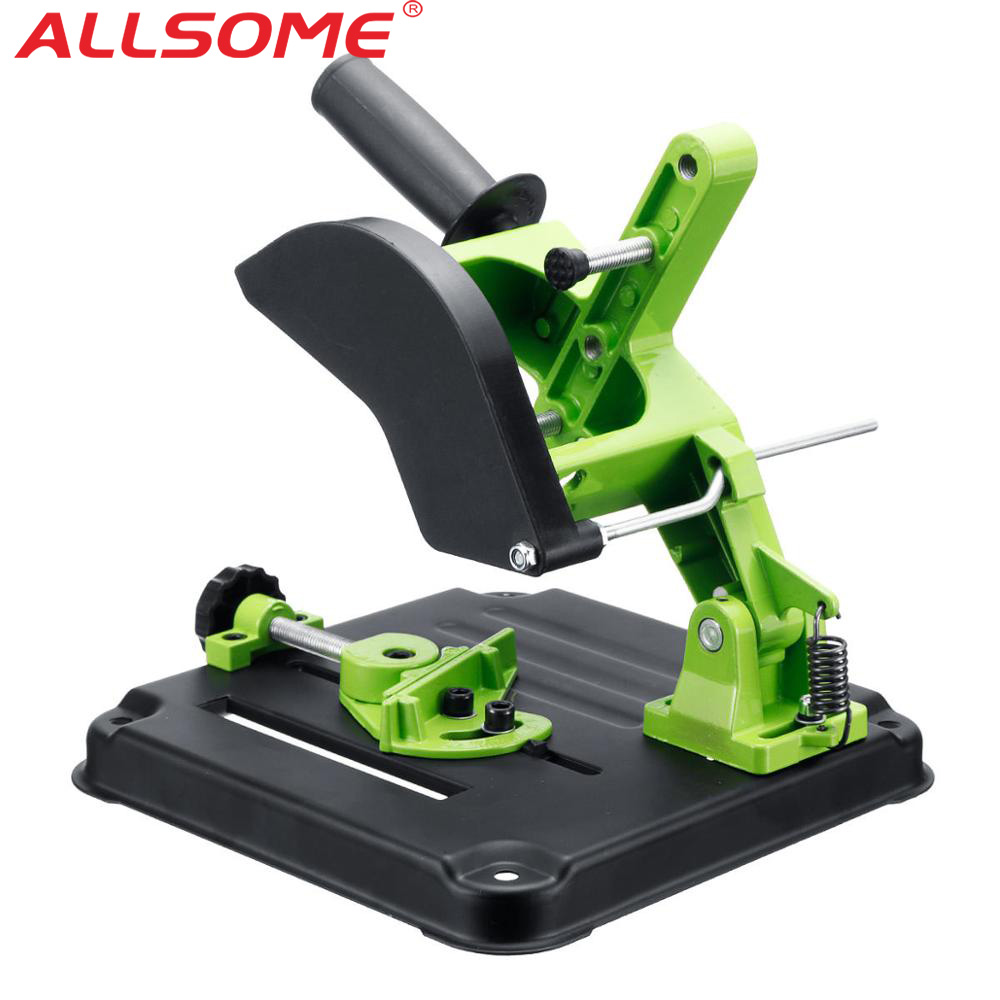 ALLSOME Angle Grinder Stand Cutting Machine Frame Hand Tool Power Tools Accessories Blade Angle Grinder Bracket