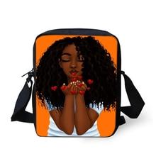 HaoYun Fashion Women Messenger Bags African Girls Prints Pattern Crossbody Kids Purse Small Coin Cute Mini Flaps