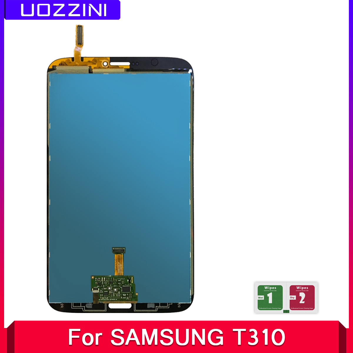 2 Pcs Lcds For <font><b>Samsung</b></font> Galaxy Tab 3 8.0 T310 <font><b>T311</b></font> SM-T310 SM-<font><b>T311</b></font> <font><b>LCD</b></font> Display Touch Screen Digitizer Panel Glass Assembly image