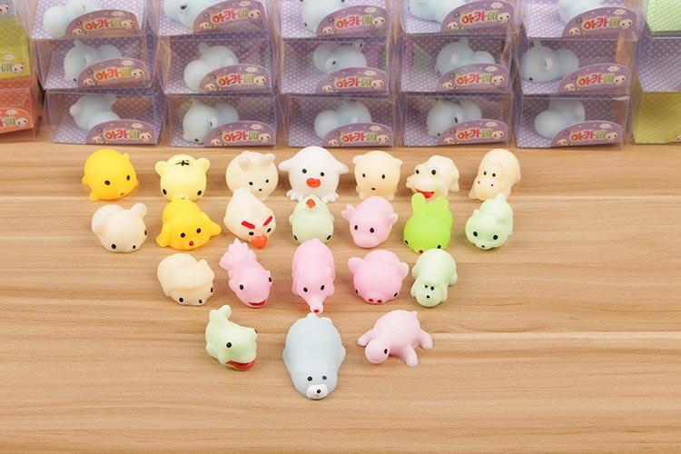 Kawaii Toy Fidget-Toys Decompression-Toy Reliever-Decor Stress Mochi Cat Squeeze Pop It img3