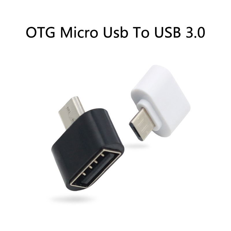 Mini OTG Converter Micro Usb To USB 3.0 Adapter For Mobile Tablet Computer External Devices Connector U-disk Transmission Data