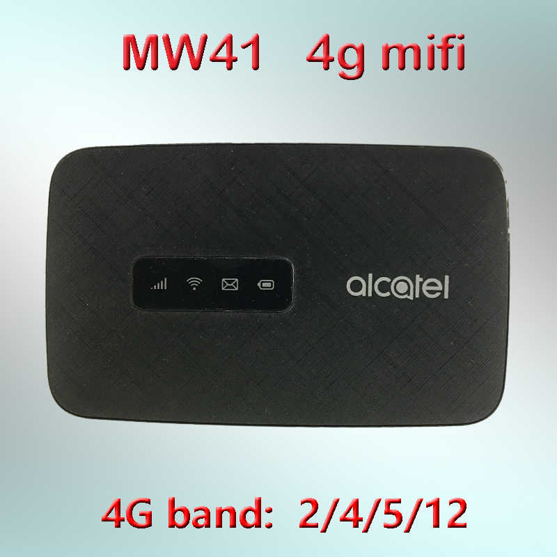 Ontgrendeld Alcatel Linkhub Mw41 4G Mifi Router Met Sim-kaart Router Wifi 4G Draagbare Wifi Mobiele 4G modem Router Mw41tm Mw41pm