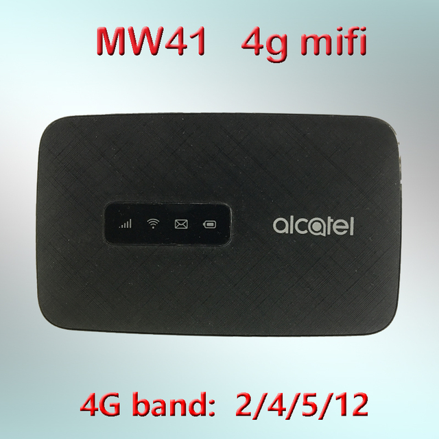 unlocked Alcatel LinkHub mw41 4g mifi router with sim card router wifi 4g portable wifi mobile 4g modem router mw41tm mw41pm