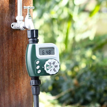 New Garden Irrigation Control Timer Outdoor Garden Irrigation Controller Solenoid Valves Timer Automatic Watering Device