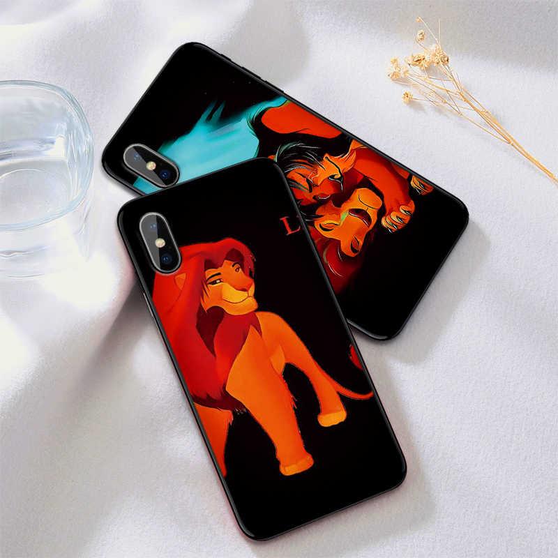 ケース iphone XR XS Max X 6 6S 7 8 プラスハクナマタタライオンキングソフト IMD 電話バックカバーギフト