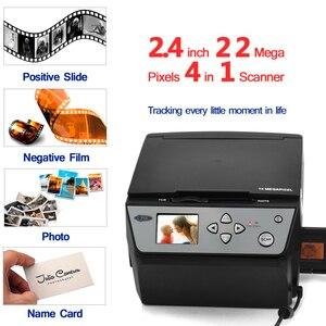 Image 2 - 22 Megapixels 4 In 1 Combo Foto En Digitale Film Scanner 135 Negatieve Converter Foto 35 Mm Film Scanner business Card Scanner