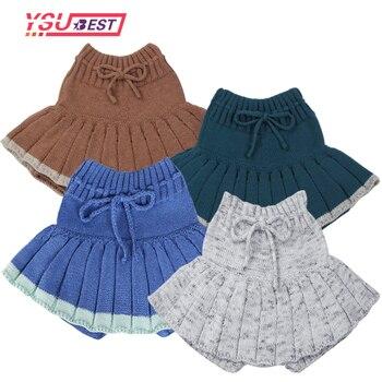 Baby Girl's Knitted Short Skirt 1