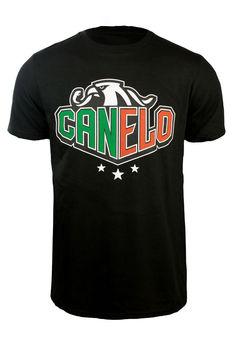 Oficjalnie licencjonowana koszulka marki Canelo Alvarez Eagle Sharp, Goldenboy, boks 2019 koszulka Unisex