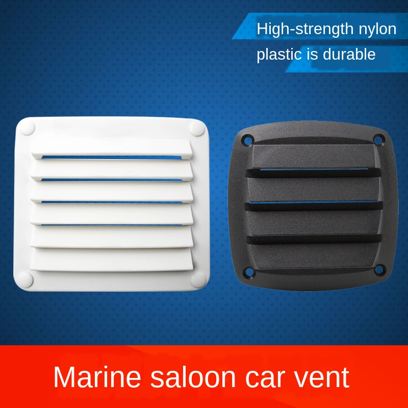 Plastic Air Vent Ventilator Grille Cover Ventilation RV Yacht Trailer Caravan Wall Ceiling Mount