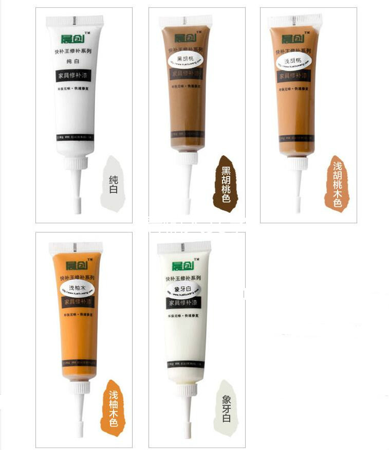Multi-color Solid Wood Furniture Scratches Repair Cream Pen Wood Floor Fill Paint Materials Decorative Sealant Paint