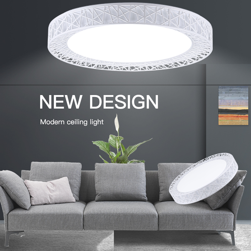 Led Ceiling Lights Surface Mounted Modern Ceiling Lamp Lighting Fixture 220V 16W 30W 50W 70W Panel Lamps For Kitchen Living Room