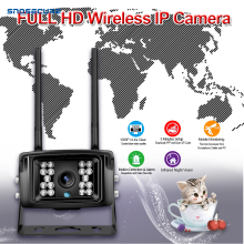 SNOSECURE 5.0MP 4G SIM Card WIFI IP Camera Wi-Fi Outdoor Waterproof Mini Security Camera Wireless TF Card Slot APP CamHi