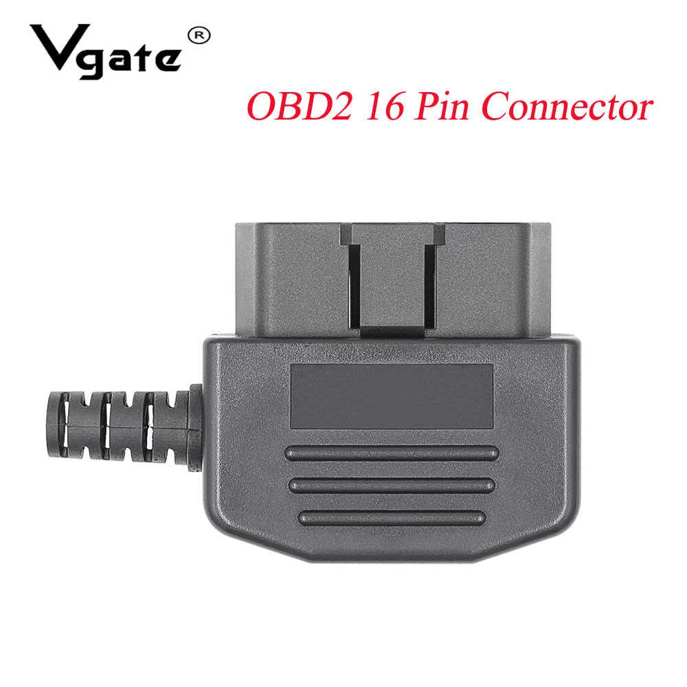 جديد OBD2 16Pin ذكر موصل أنثى محول J1962F لسيارة التشخيص كابل أداة ل OBD 2 ELM327 V1.5 V2.1 obd2 الماسح الضوئي القارئ