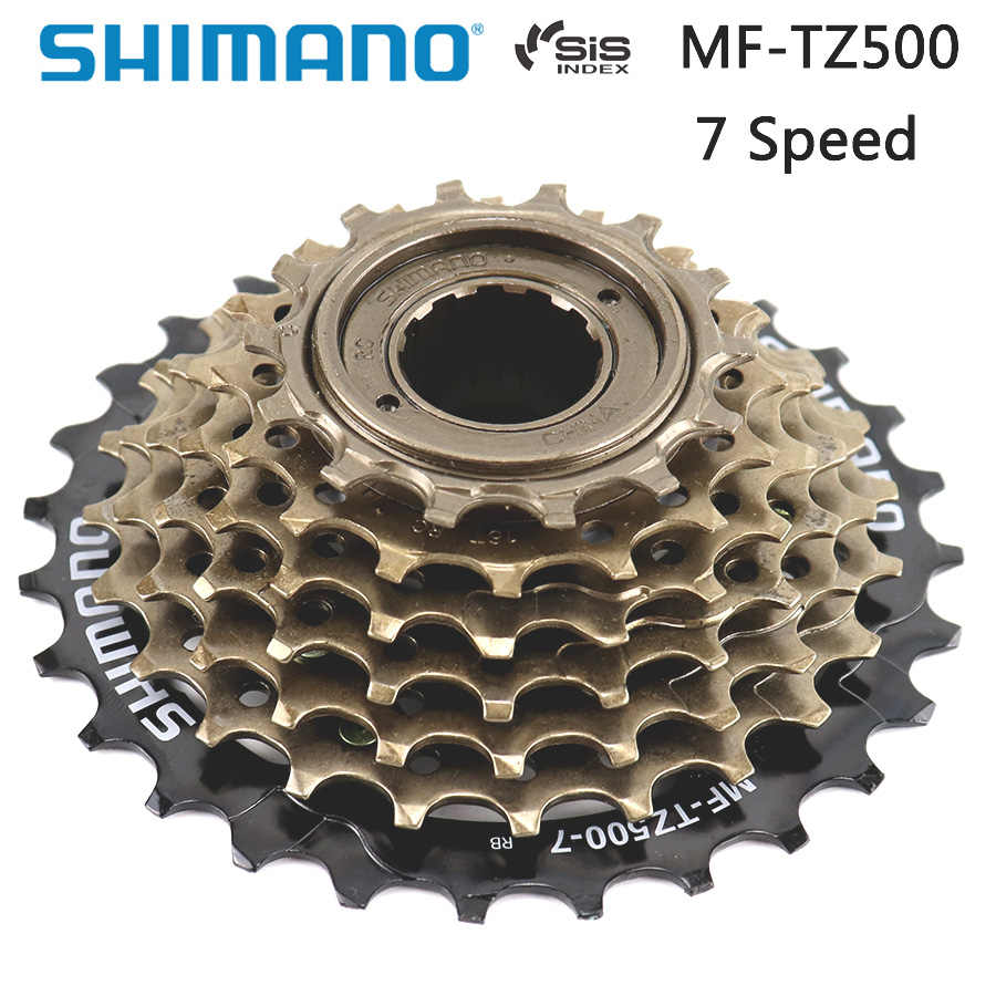 Shimano Mega Range Screw on Freewheel MF-TZ500-14-34T MF-TZ30, TZ31 7 Speed