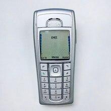 6230i original nokia 6230i telefone 2g gsm desbloqueado árabe inglês russo teclado & presente & um ano de garantia
