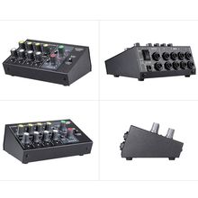 8 Channel Sound Universal Digital Mixer Adjusting Microphone Mixing Console Mono/Stereo EU/US Plug