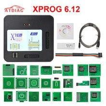 Nouveau XPROG V6.12 boîte de X PROG Xprog ECU programmeur outil XProg ELDB V6.12 XPROG 6.12 XPROG M V6.12