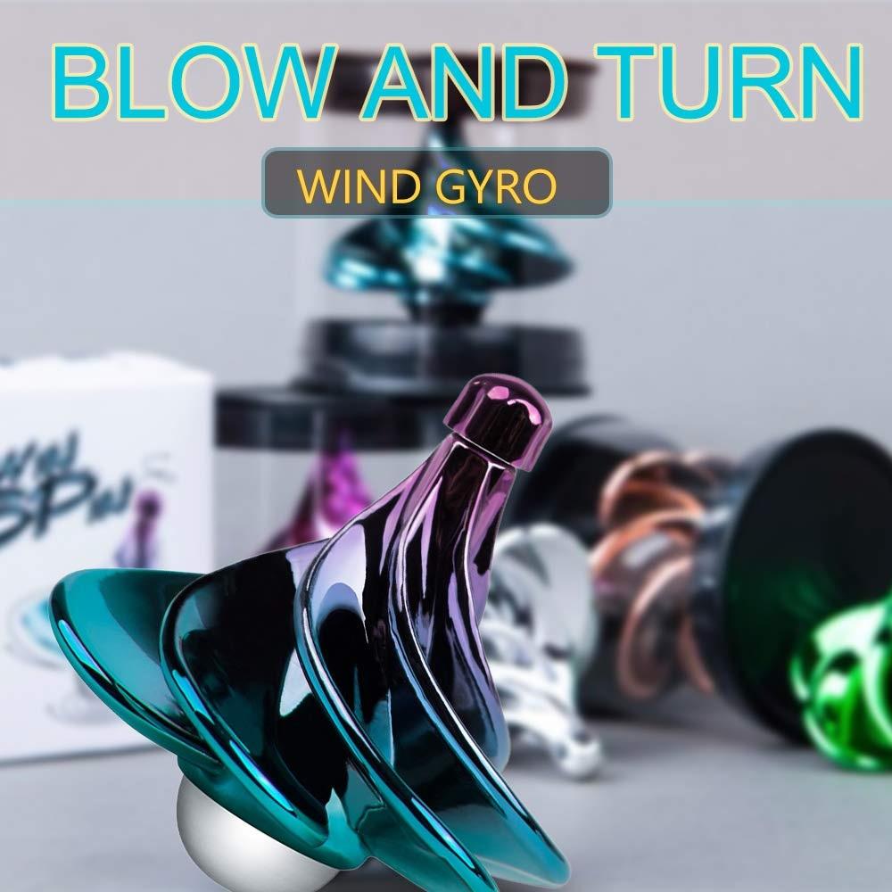 New Wind Top Winspin Aerodynamic Gyro Decompression Decompression Novelty Fun Boy And Girl Toy Gift
